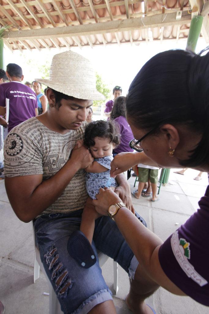 Vacinação / Foto: Miva Filho