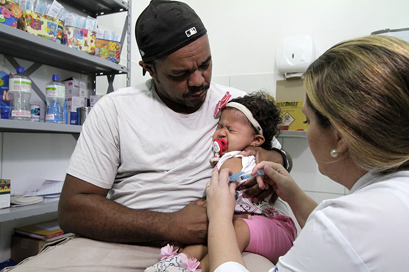 Vacinação - Foto: Miva Filho / SES-PE